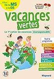 Vacances vertes, de la MS à la GS: Le premier cahier de vacances écoresponsable !