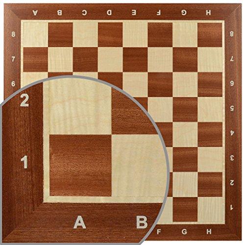 Wegiel Handmade Wooden 18.9 Inch Mahogany & Sycamore...