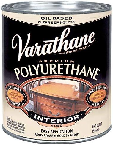 Varathane Limited price Free shipping New Classic Clear Diamond Semi-Gloss Wood 1 Quart Size: