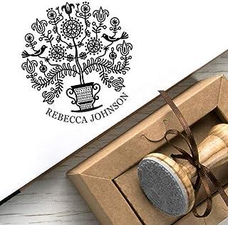 Timbro Personalizzato Albero della Vita Scatole Regalo