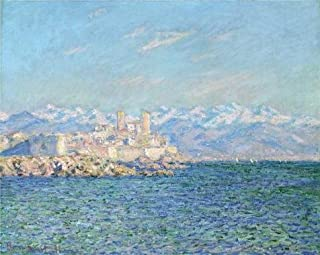 'Old Fort At Antibes, 1888 By Claude Monet' Oil Painting, 30x38 Inch / 76x95 Cm ,printed On High Quality Polyster Canvas ,this Reproductions Art Decorative Canvas Prints Is Perfectly Suitalbe For Garage Gallery Art And Home Decoration And Gifts