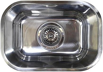 CM1 Undermount/Counter Top Single Bowl 8L Small Bar Sink 325mm x 225mm x 140mm