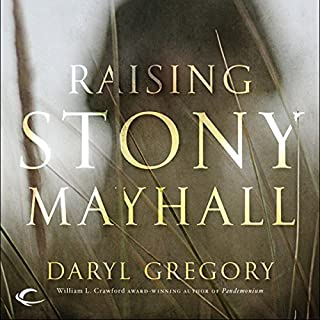 Raising Stony Mayhall audiobook cover art