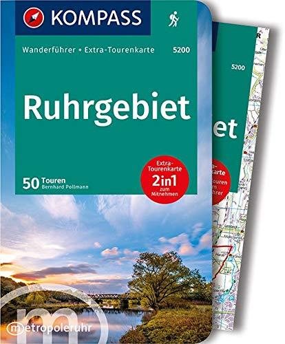 KV WF 5200 Ruhrgebiet mit Karte (KOMPASS-Wanderführer, Band 5200)