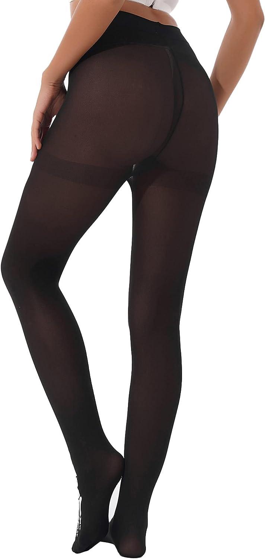 Moily Women's Skeleton Printing Halloween Party Mesh Sheer Footed Tights Leggings Pantyhose
