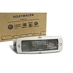 Original VW Leseleuchte innen perlgrau Leuchte Innenleuchte seitlich hinten Golf 4/5/6 Passat B5 Tiguan