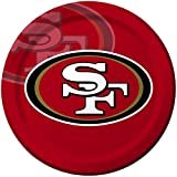 Creative Converting 8 Count San Francisco 49ers Paper Dinner Plates -