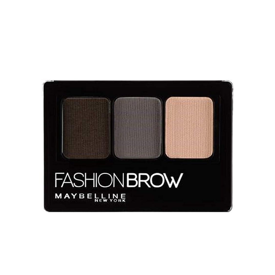 渇き操る想定メイベリン ファッションブロウ パレット BR-1 自然な濃茶色