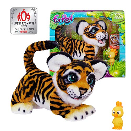FurReal Roarin' Tyler, the Playful Tiger B9071 Electronic Plush Toy, Officially Licensed