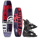 Hyperlite Motive 134 Package Wakeboard mit Frequency Wakeboardbindung -