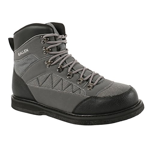 Allen Company Granite River Wading Boot, Felt Sole, Gray