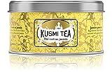 (KUSMI TEA) クスミティー ジャスミン グリーンティー 125g缶 [正規輸入品]