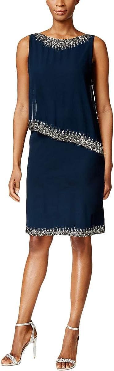 J Kara Women's Sleeveless Short Cocktail Dress