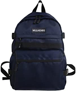 XIAJIA Backpack Teen Boys School Bags Sac À Dos pour Hommes Bookbags Oxford Large College Student High Schoolbag Bagpack, ...