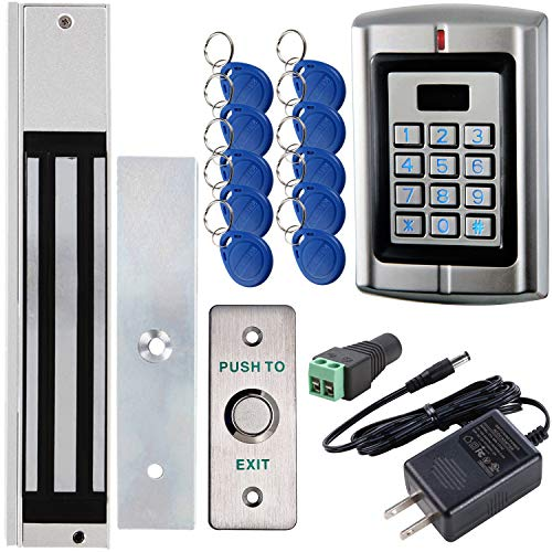 UHPPOTE Outswinging Door Access Control System with 600lbs Electric Magnetic Lock