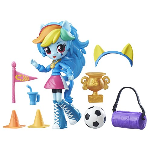 My Little Pony Equestria Girls Minis Rainbow Dash School Pep Rally Set by My Little Pony Equestria Girls