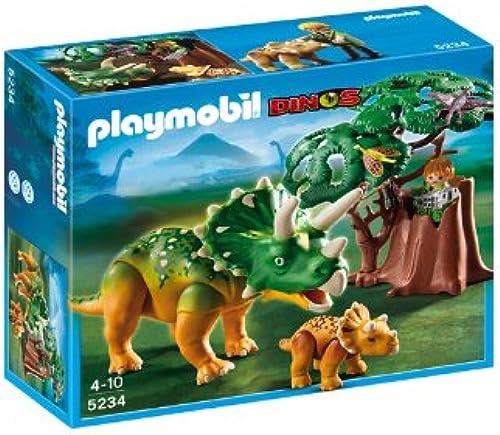 ventas calientes Playmobil - Triceratops con con con bebé (5234)  Precio al por mayor y calidad confiable.