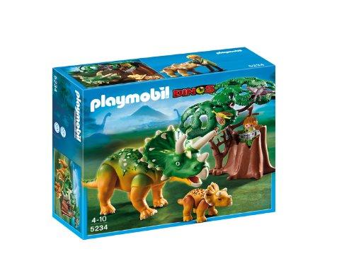 PLAYMOBIL: Triceratops con bebé  5234