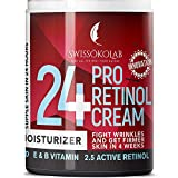 Retinol Cream for Face Eye Neck Area - Day & Night Retinol Moisturizer - Anti Aging Face Cream with 2.5% Active Retinol Hyaluronic Acid - Firming Anti Wrinkle Cream Men Women