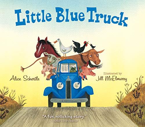 Little Blue Truck Board B