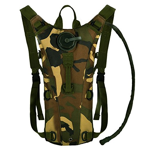 Bormart 3L 3 Liter 100 Ounce Hydration Pack Bladder Water Bag Pouch Hiking Climbing Hunting Running Survival Outdoor Backpack