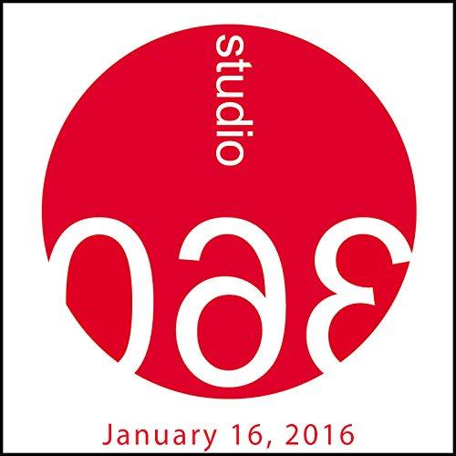 Studio 360: Alejandro Iñárritu, Steve Martin, & David Bowie audiobook cover art