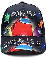 Queenromen Unisex Niños Juego Entre Nosotros Sombrero Entre Nosotros Juego Periférico Impresión Gorra De Béisbol Niños Impostor Regalo Moda Sombrero