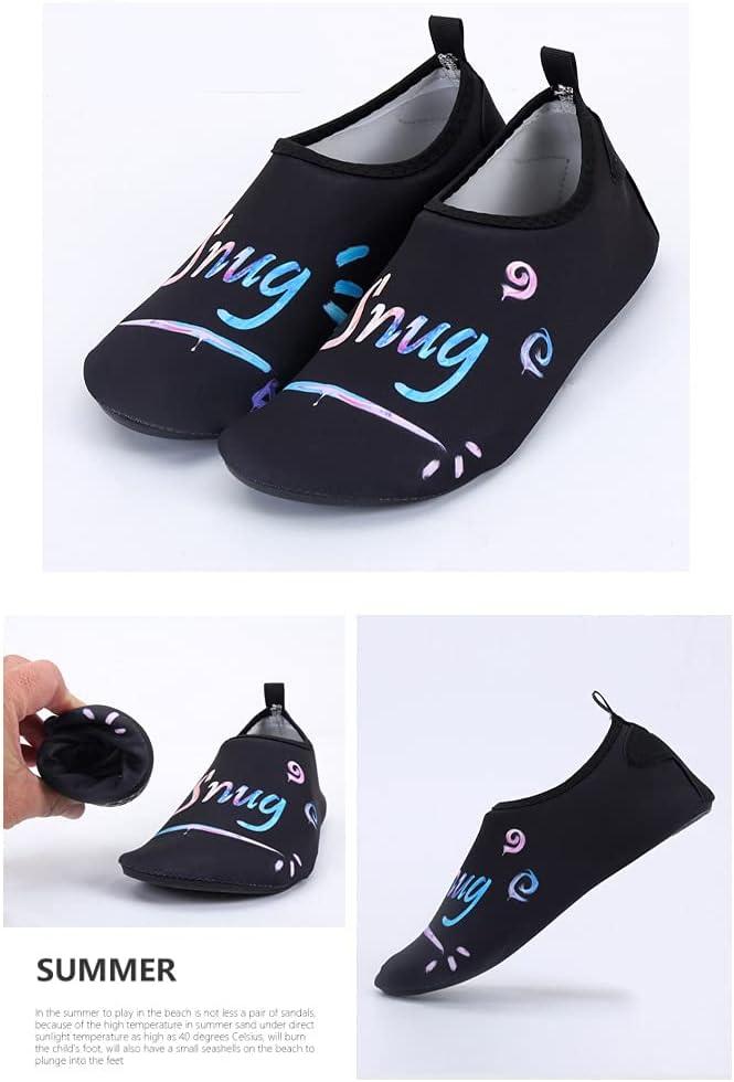 GUAGLL Water Socks Quick Dry Dive Shoes Beach Creek Barefoot Aqua Socks