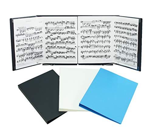 SHIROKUMA 楽譜ファイル 2冊セット スカイブルー
