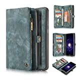KONKY Caseme Samsung Galaxy S8 Wallet Case, Magnetic...