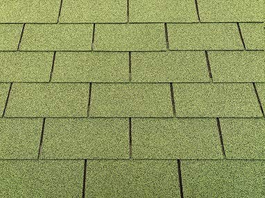 Isolbau Dachschindeln 3m² Rechteck Grün (21 Stk) Schindeln Dachpappe Biberschindeln Bitumenschindeln Gartenhaus Vogelhaus Holz Kaninchenstall Betonsäulenüberdeckung Hundehütte