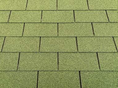 Dachschindeln 3m² Rechteck Grün (21...