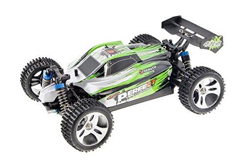 Monstertronic Truggy VS. WLToy A959 sehr schneller RC Buggy , über 50kmh schnell , sehr wendig, 2.4 GHz RC Auto mit Allradantrieb