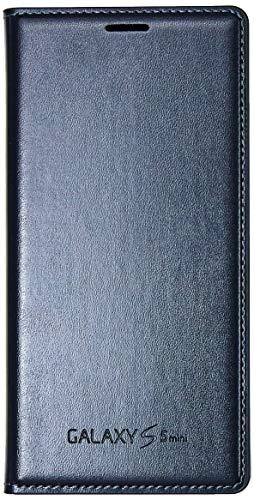 Capa Protetora Flip Cover, Samsung, Galaxy S5 Mini, Capa com Proteção Completa (Carcaça+Tela), Preto