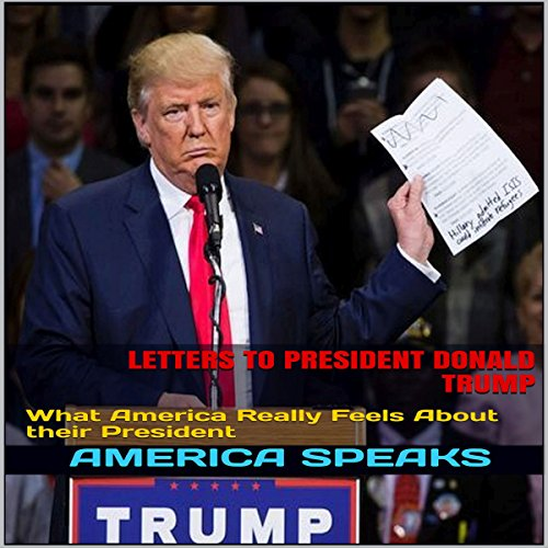Letters to President Donald Trump audiobook cover art