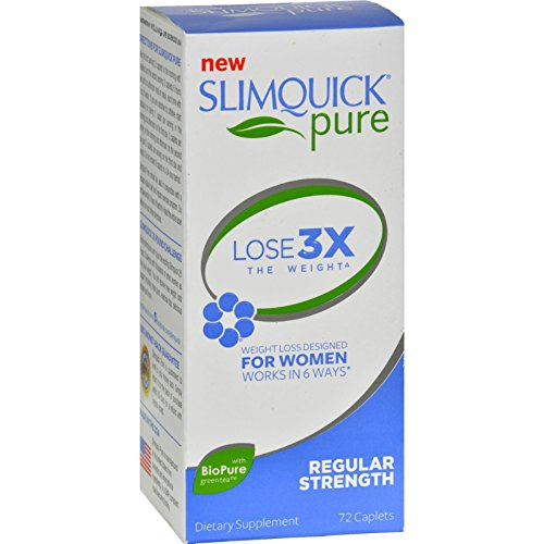 SlimQuick Pure - Regular Strength - 72 Caplets