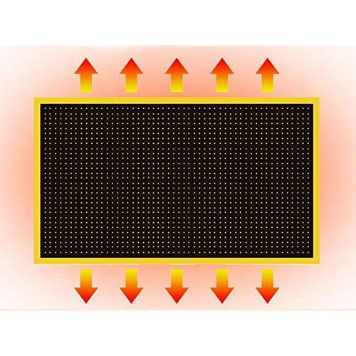 XIA Wand Heizung Fern Infrarot Heizung 800 Watt Schlafzimmer Energiespar Carbon Kristall kaufen  Bild 1*