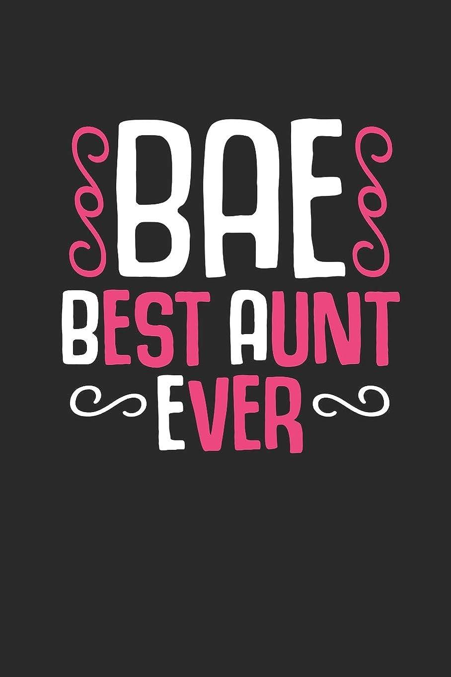 外出改善する余裕があるJournal: Best Aunt Ever