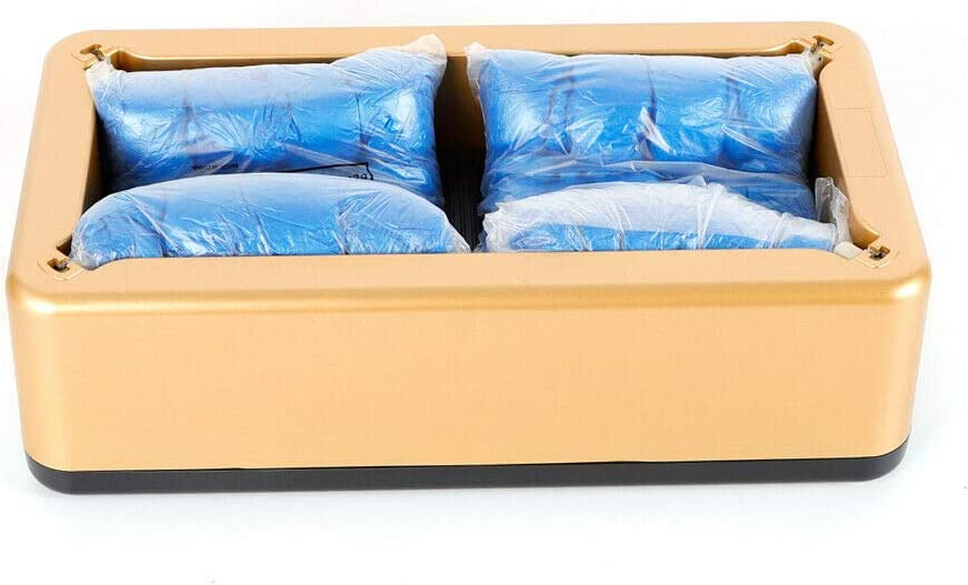Automatic Shoe Covers Courier shipping free Dispenser Disposable Cover Boot 5 ☆ very popular Cove