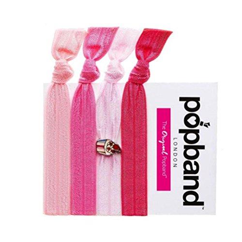 Popband Sweetie - Paquet de 4 Élastiques à Cheveux Popbands