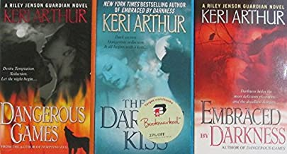 Author Keri Arthur Three Book Set Bundle Collection, Includes: Dangerous Games - The Darkest Kiss - Embraced Darkness