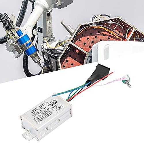 Weikeya Controlador de Velocidad de Motor Industrial, Distancia Central de 104 mm con Metal y componentes electrónicos 15kHz 90 * 52 * 36mm