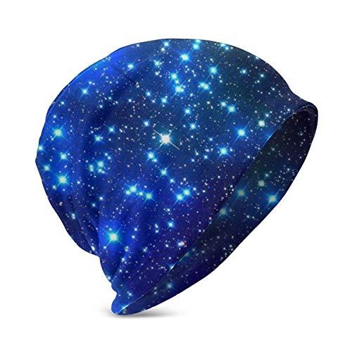 Lawenp Gorro de Punto para beb con diseo de Estrella Azul, Gorros Suaves y clidos para nios, nias de 3 a 10 aos