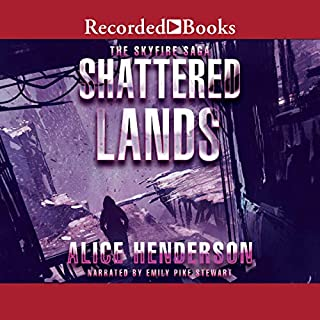 Shattered Lands audiobook cover art