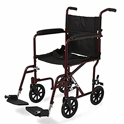 Excel Ultralight (19 lbs.) Aluminum Transport Chair