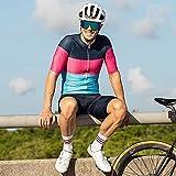 Herren Radsport Team Trikot Set Kurzarm MTB Rennrad Uniform Triathlon Set (Color : Suit 3, Size : XX-Large)