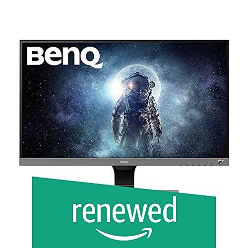 BenQ EW277HDR 68,58 cm (27 Zoll) Eye-Care LED Monitor (1920 x 1080 Pixel, Full HD, REC. 709, DCI-P3, HDR Mode, AMVA+ Panel) grau (Generalüberholt)