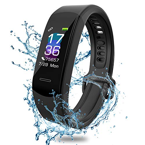 Fitness Tracker ANEKEN Smartwatch Activity Tracker Orologio Fitness, Cardiofrequenzimetro da Polso,Contapassi, Impermeabile IP67, Monitoraggio del Sonno per Donna e Uomo, Notifiche di Messaggi