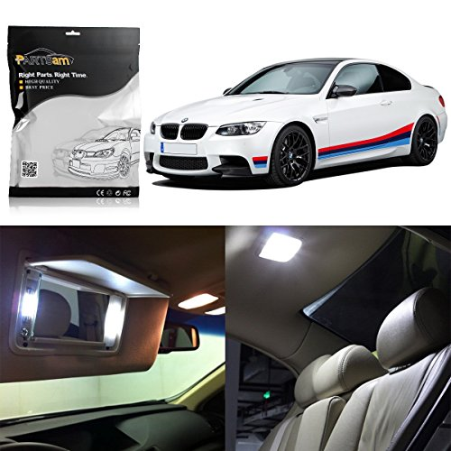 Partsam LED Interior Light Package Replacement Lights Kits