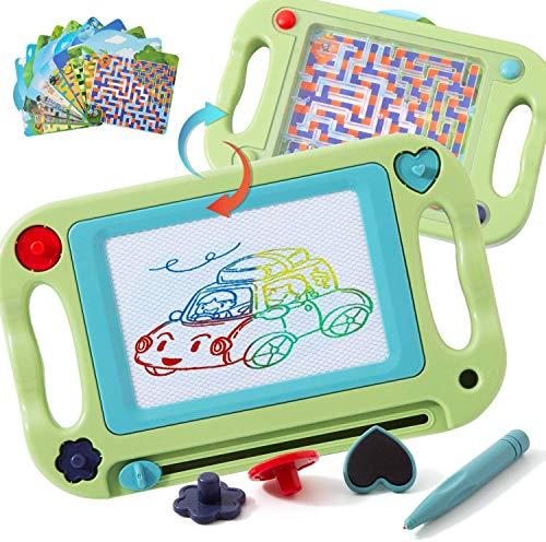 お絵描きボード 子供おもちゃ 子どもバランストレーニング 一台二役 セール中 磁石ボード 知育おもちゃ 迷宮 パズル 繰り返し利用可能 1歳 2歳 3歳 4歳 5歳 6歳 男の子 女の子 小学生誕生日プレゼント グリーン Heegay